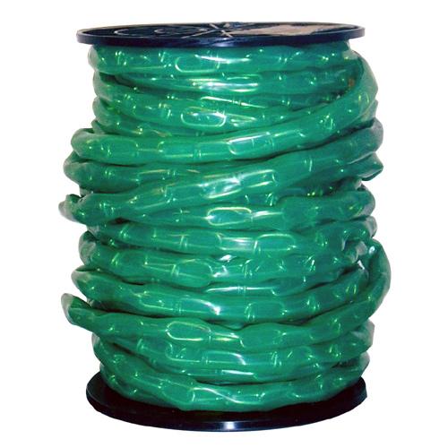 Chaine à boucles doubles recouverte de vinyle, vert