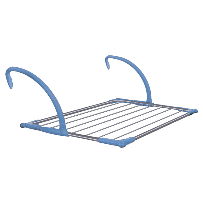 Indoor-Outdoor Handrail Drying Rack