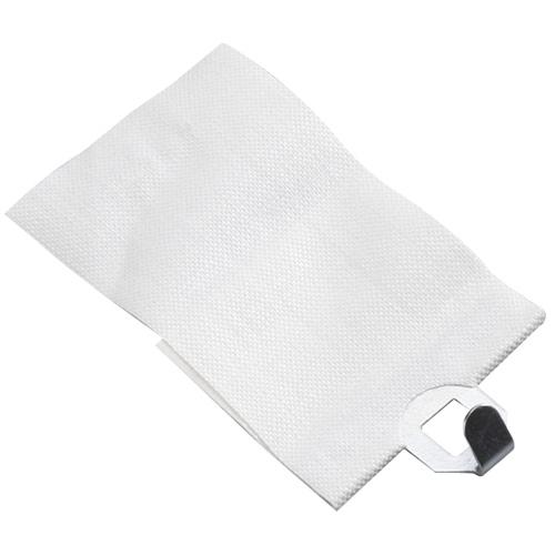 Crochet adhésif pour tissus, paquet de 6, blanc