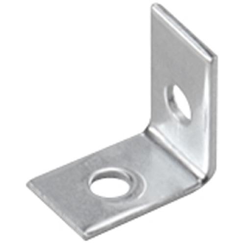 "Corner Brace - Steel - 1/2"" x 3/4"" - Zinc"