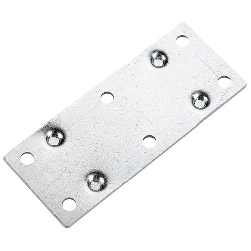 "Mending Plate - Steel - 3 1/2"" x 1 3/8"" - 4/PK - Zinc"