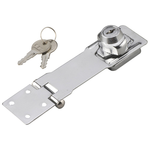 "Locking Hasp - 41/2"" X 11/2"" X 1"" - Galvanized Metal"