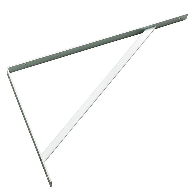 "Metal Shelf Bracket - 21 1/2"" - White"