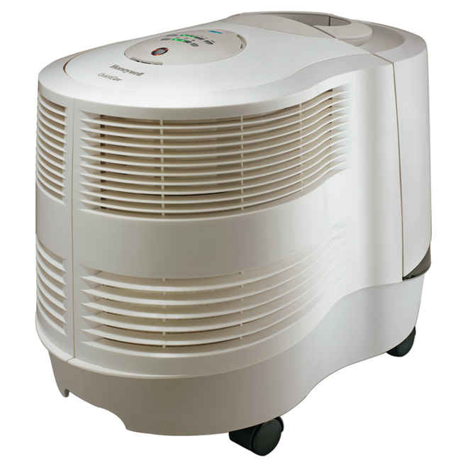 Humidificateur à console, 3 gallons, 2 300 pi², blanc