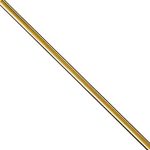 Tige pour ventilateur de plafond Hunter, nickel brossé, acier, 12 po de long x 3/4 po de diamètre