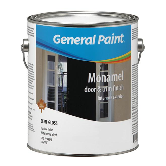 Peinture alkyde à base d'eau, semi-brillant, base blanche