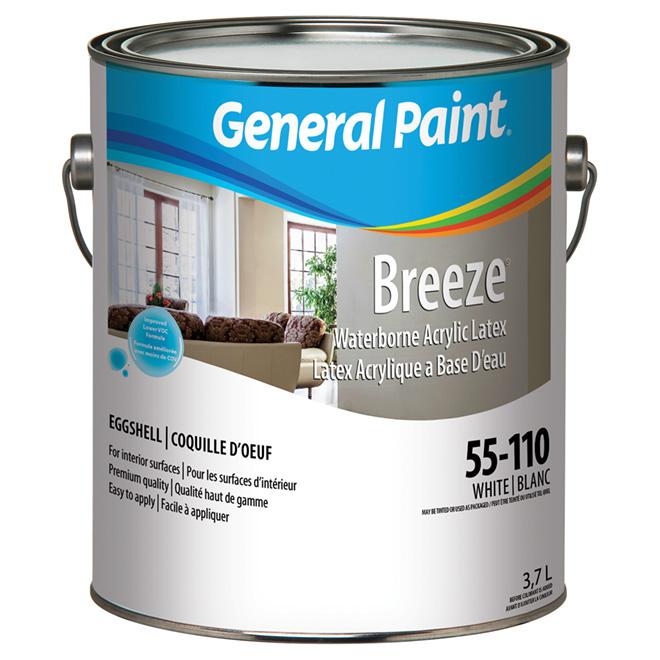 Eggshell Finish Interior Latex Paint