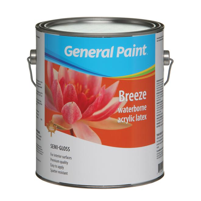 Semi-Gloss Finish Interior Latex Paint