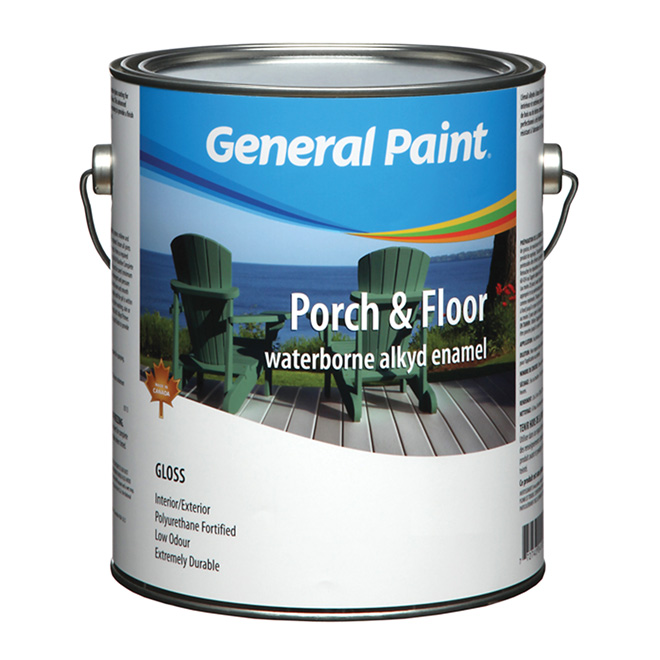 Porch and Floor Acrylic Latex Enamel Paint - White Base