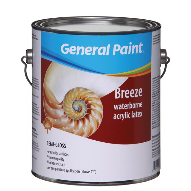 Peinture d'extérieur au latex de qualité supérieure