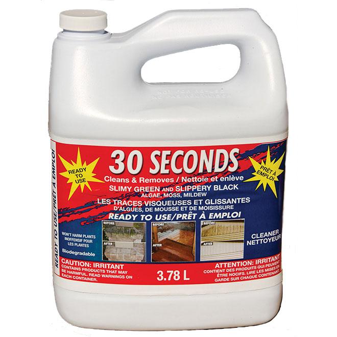 Nettoyant pour l'extérieur « 30 Seconds », 3,78 l