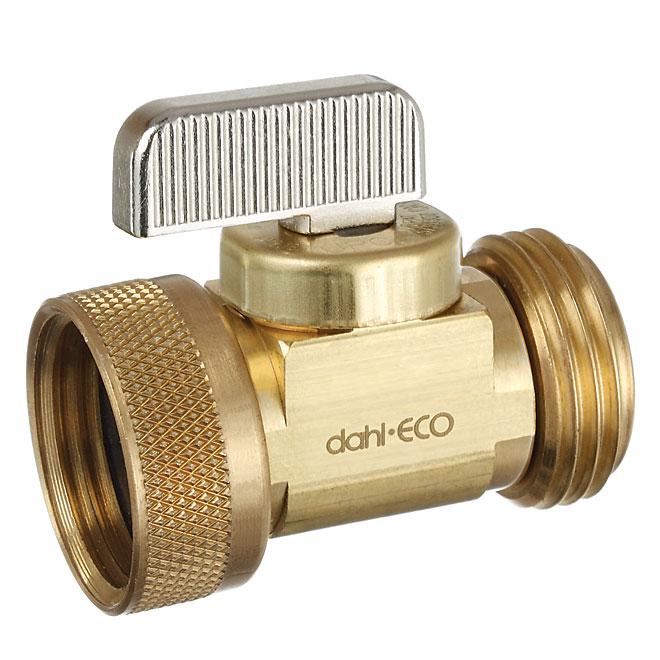Robinet droit de drain de tuyau flexible et de chaudière