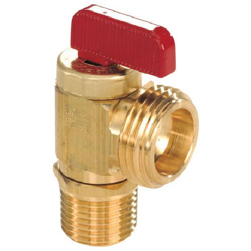 Ensemble de robinet angulaire de drain de tuyau flexible et de chaudière