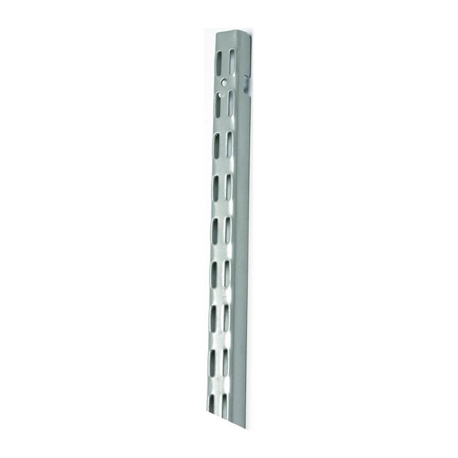 Rail vertical « ShelfTrack » de 30 po, nickel