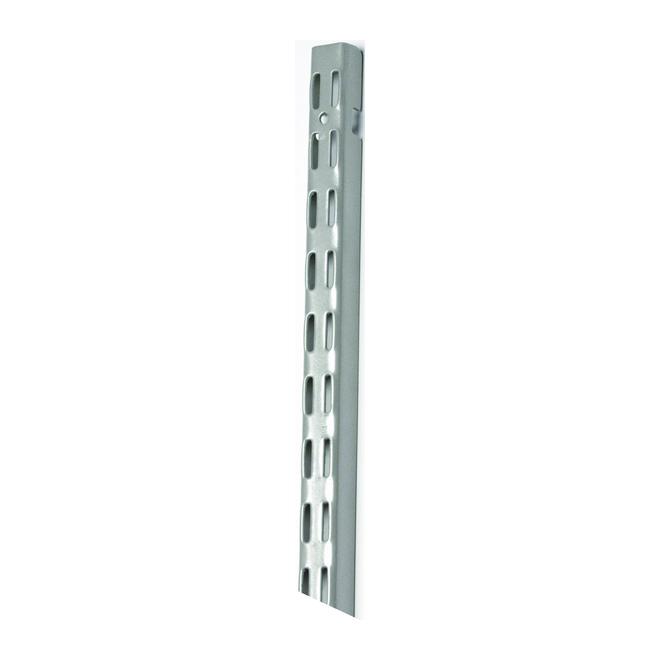 Rail vertical « ShelfTrack » de 84 po, nickel