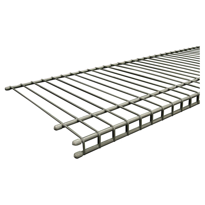 """SuperSlide"" Wire Shelf 12"" x 48"" - Nickel"