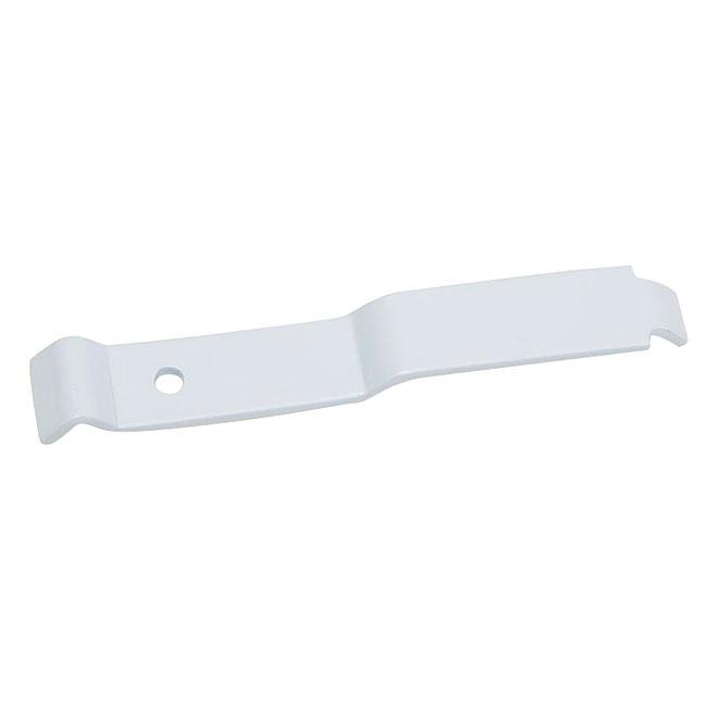 Steel Corner Support - White