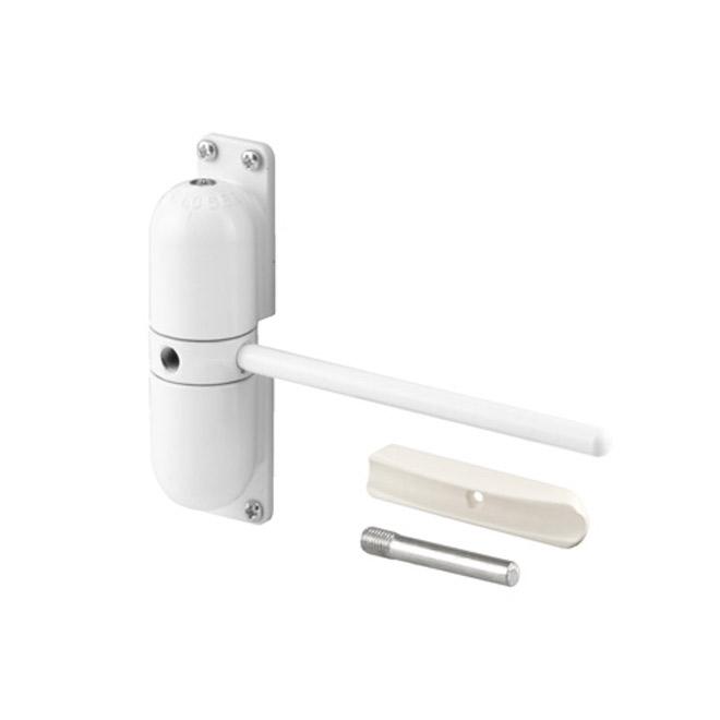 Ferme-porte blanc Prime-Line à ressort ajustable