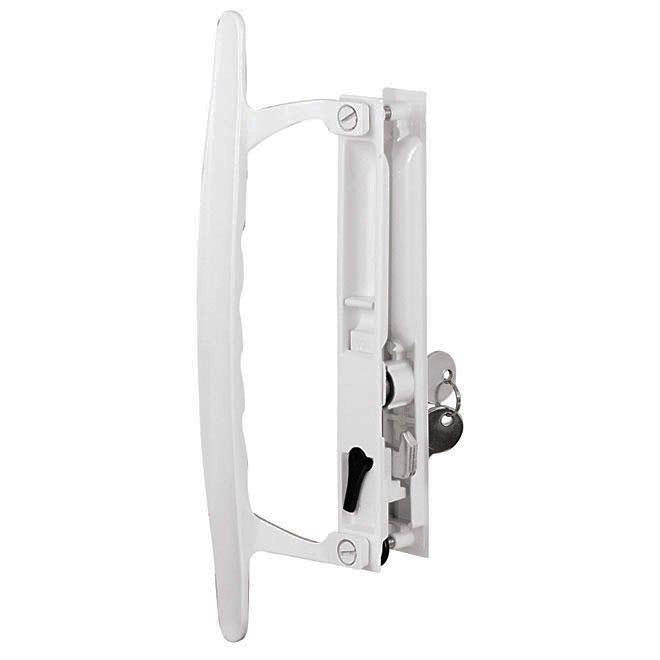 Prime Line Patio Door Handle Set White Rno Dpt