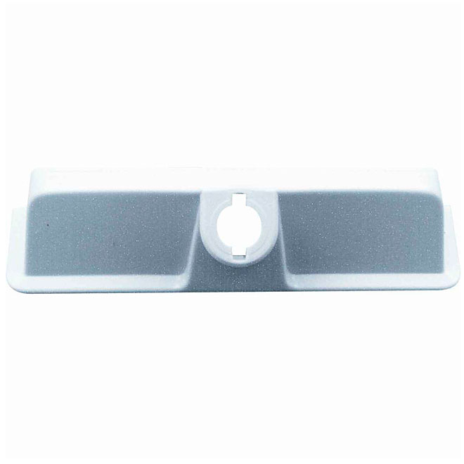 Prime-Line Operator Cover - Plastic - White - 5 1/4-in x 1 1/8-in