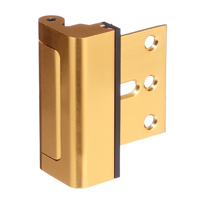 Door Reinforcement Lock - Aluminum - Gold
