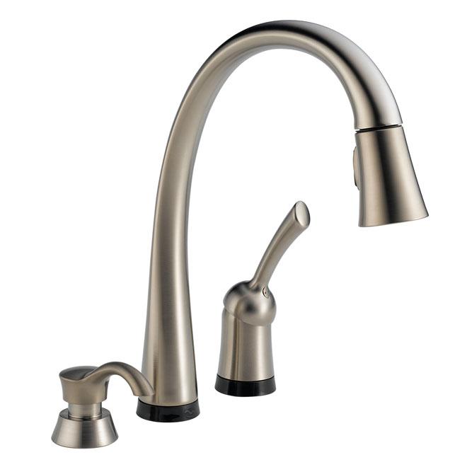 Delta Pilar Kitchen Faucet 980tsssd Dst Reno Depot