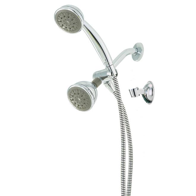 Combo Showerhead and hand shower