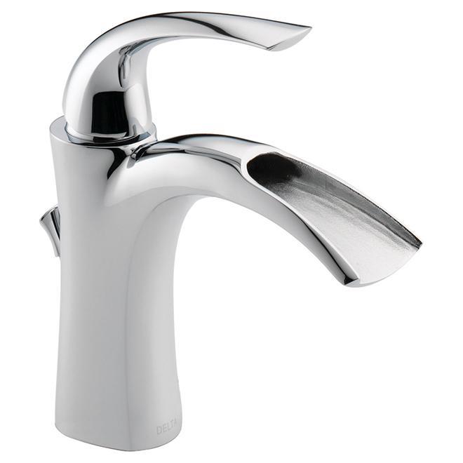 Robinet à levier pour salle de bain Nyla, chrome