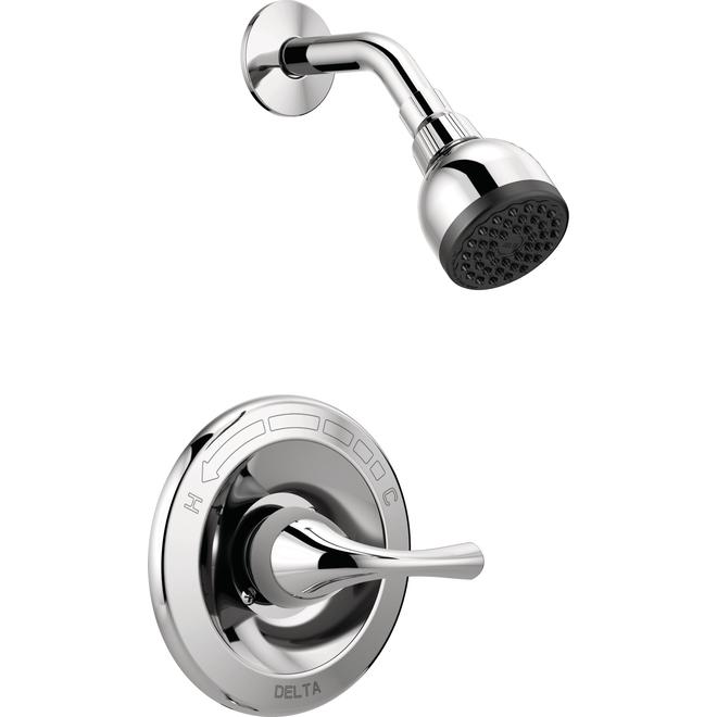 Delta Principals Chrome 1- Handle Shower Faucet with Valve