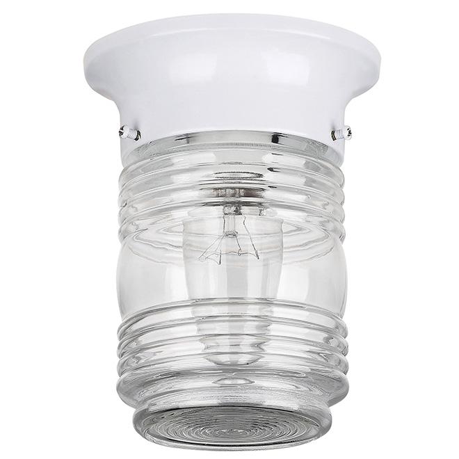 Luminaire d'extérieur avec globe de verre de Canarm
