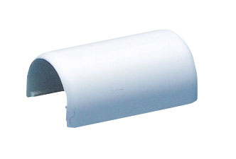 Coupling for Wire Cover - 1'' - Plastic - White