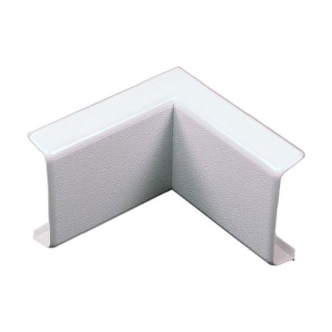 90° Inside Corner for Wire Cover - 2.5'' - White