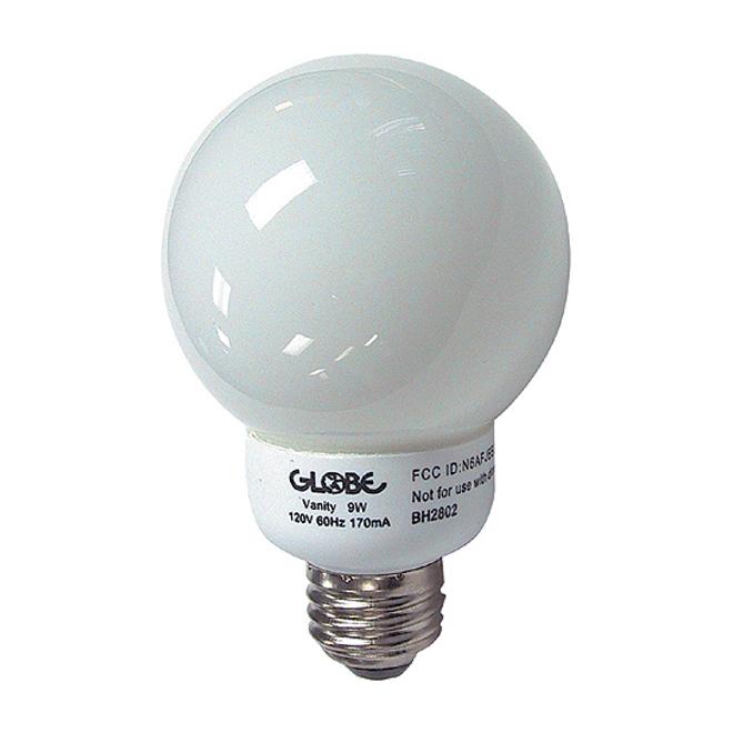 9-W vanity bulb