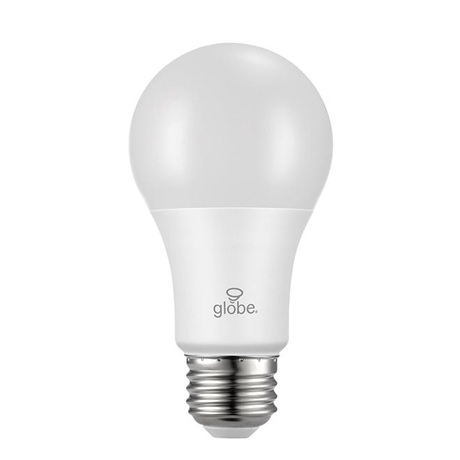 Ampoule DEL, A19 6 W, intensité variable, 2/pqt