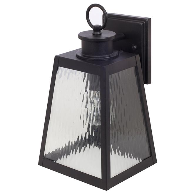 Lantern - Outdoor Wall Mount Lantern - Black