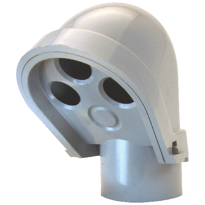 "Service Entrance Head - PVC - Rigid - 1 1/4"""