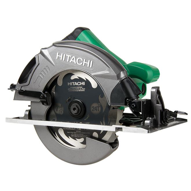 "Circular Saw - 7 1/4"" Blade - 15 A - Green/Black"