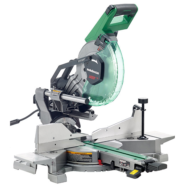 Metabo Hpt Scie A Onglets Double Combinee Avec Laser 10 ...