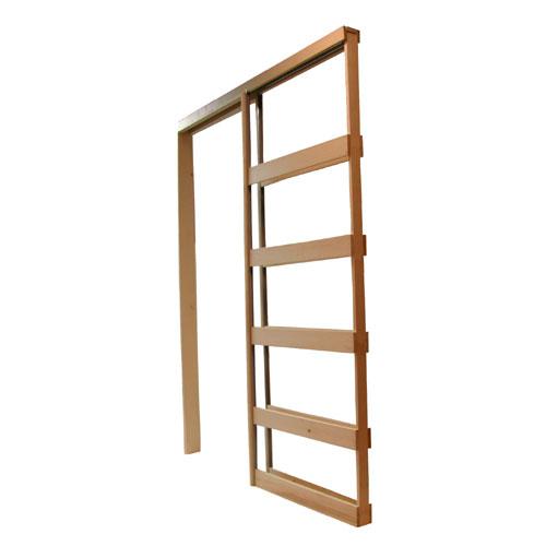"""Pocket Door Frame - 30"""" x 80"""" - Pine"""