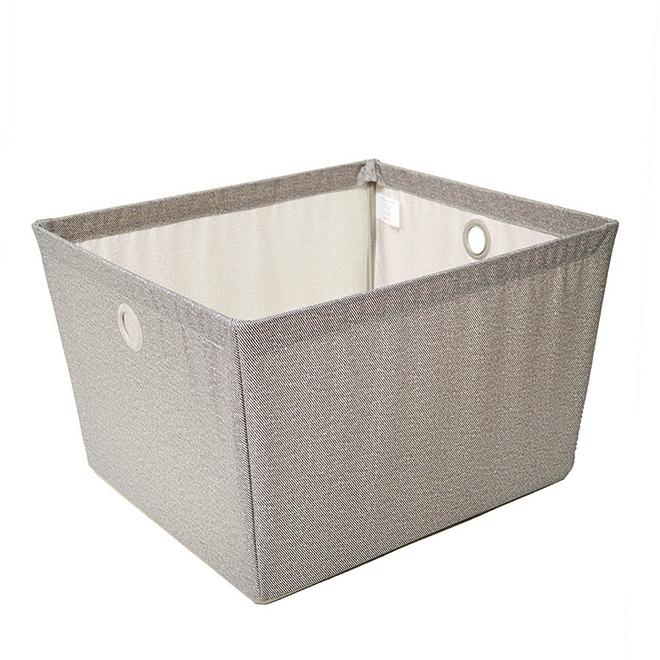 """Large Fabric Storage Bin - 14"""" x 16"""" x 10"""""""