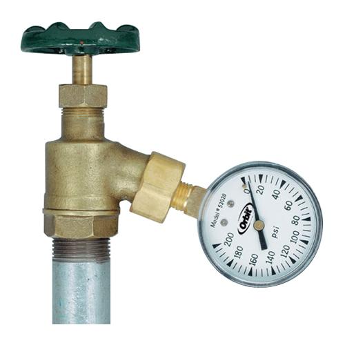 Irrigation Systems - Orbit - 200 lb Pressure Gauge