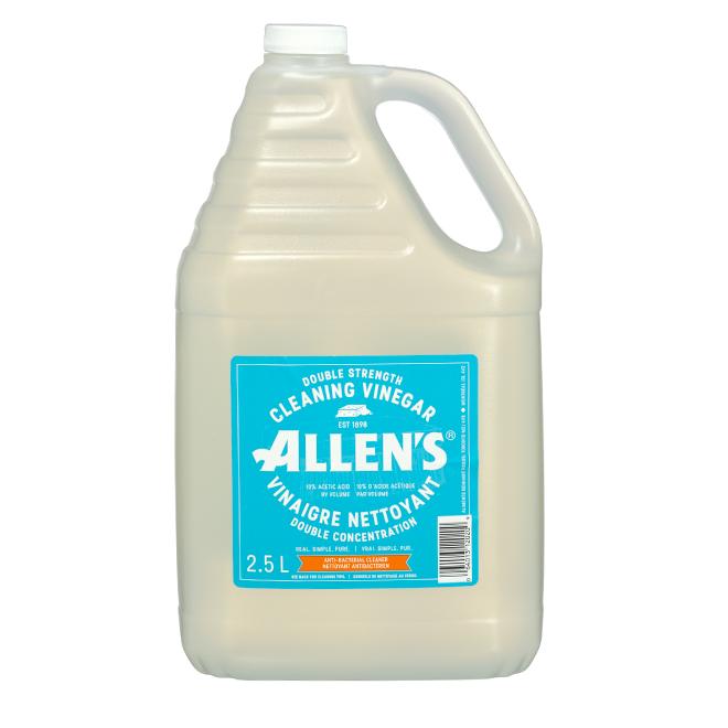 Vinaigre nettoyant Allen's, double concentration, 2,5 l