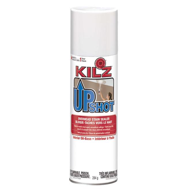 Apprêt-scellant en aérosol Kilz Upshot, 284 g, blanc