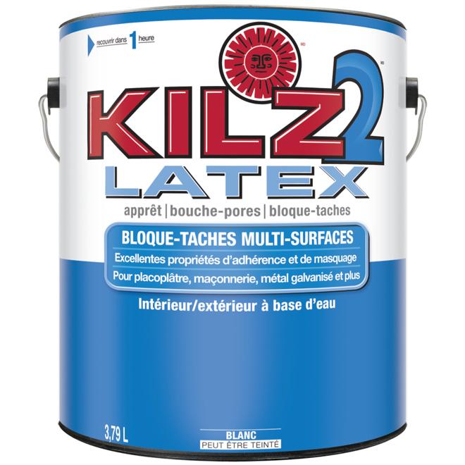 Apprêt scellant latex Kilz2(MD), intérieur/extérieur, 3,79 l