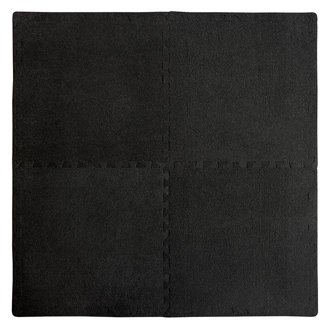 Mat - ''Anti-Fatigue'' - 24'' x 24'' - Black