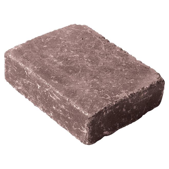 """""""Roman Euro"""" Paving Stone 6"""" x 6"""" - Cedar"""