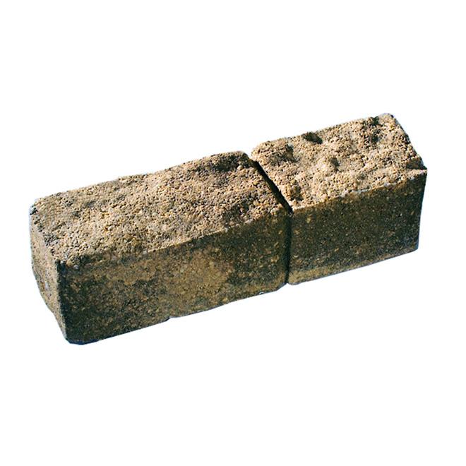 Bordure de dalle « Stratus » de 3,5 po x 12 po, terre