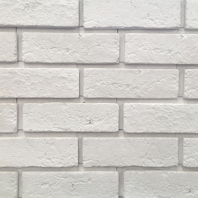 Brique Decora, Iceland, 2,87'' x 8,66'', blanc
