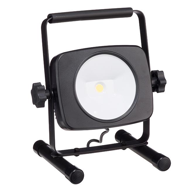 Lampe de travail portative DEL, 26W, noir