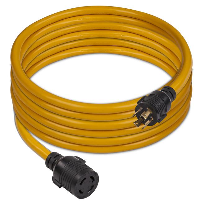 Câble d'alimentation Firman, 25 pi, 30 A, L14-30P à L14-30R